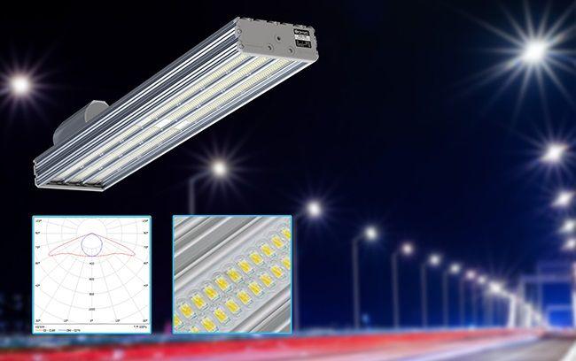 Новая оптическая система для уличных светодиодных светильников УСС Магистраль.