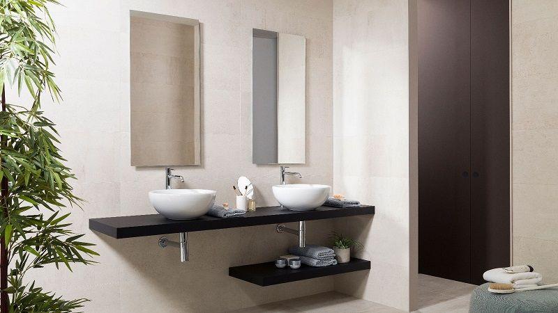 Project Tech — многофункциональные столешницы для ванных комнат в стиле минимализма.