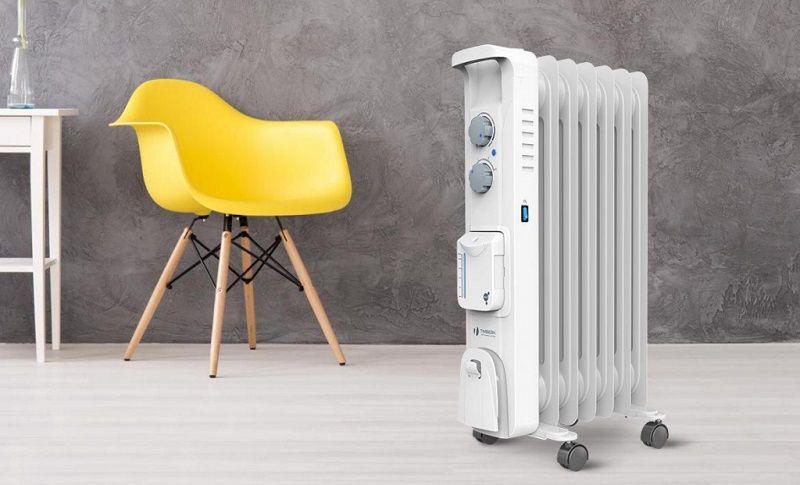 Радиаторы Timberk Blanco Aqua со встроенным увлажнителем.