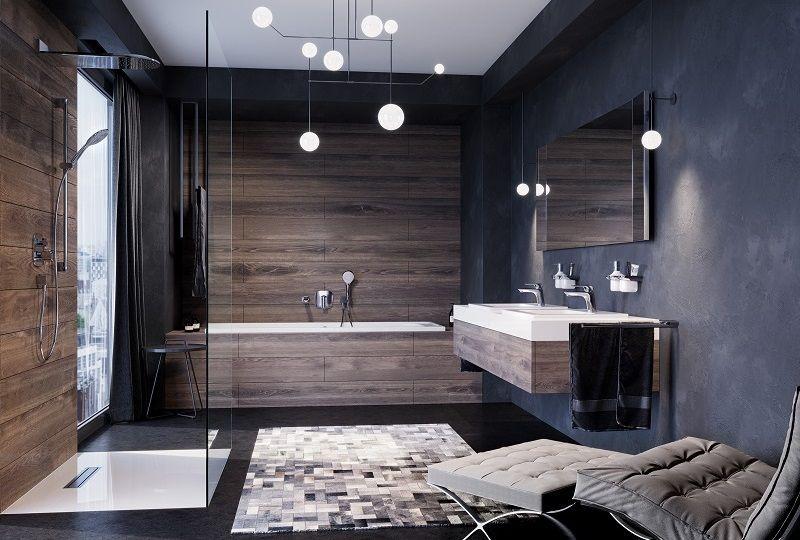 KLUDE. Креативно и современно – проект модной ванной комнаты .