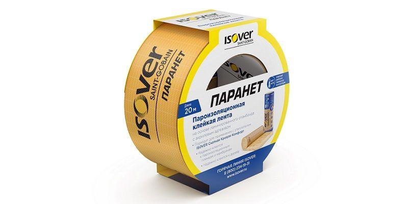 Пароизоляционная клейкая лента ISOVER Паранет.