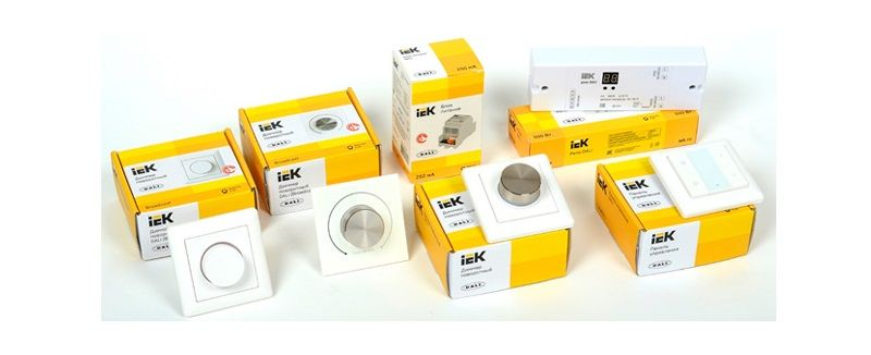 IEK Lighting – системы управления освещением по протоколу DALI.