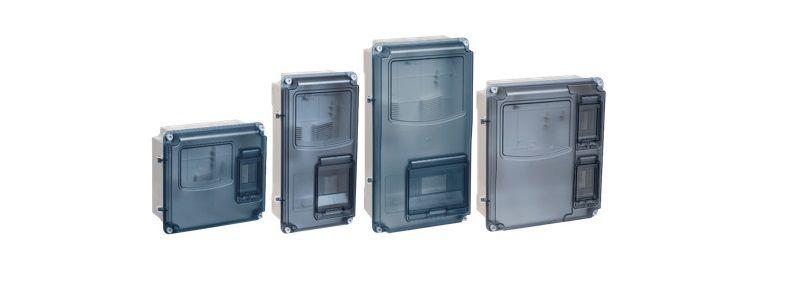 Пластиковые корпуса ЩУРн-П IP55 PC IEK.