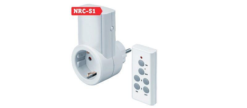 Navigator NRC-S, управляемая розетка с дистанционным управлением.