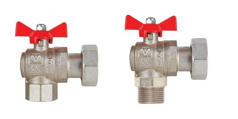 Угловые шаровые краны – Valtec VT.266 и VT.267.