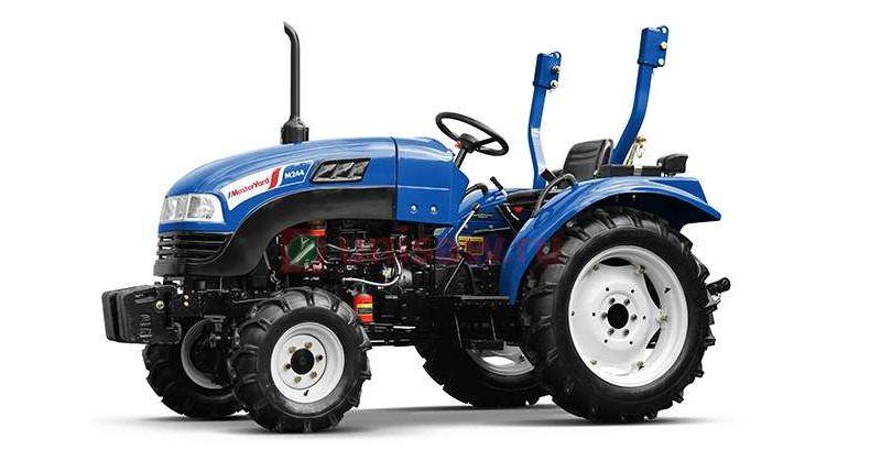 MasterYard – Полноприводный дизельный трактор M244 4WD.