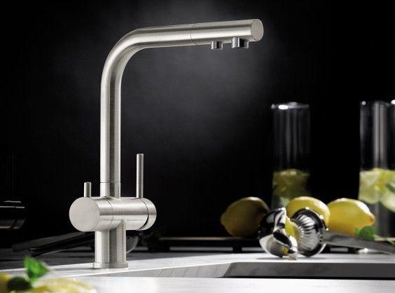 BLANCO FONTAS II - 2 в 1: питьевая вода из одного смесителя.