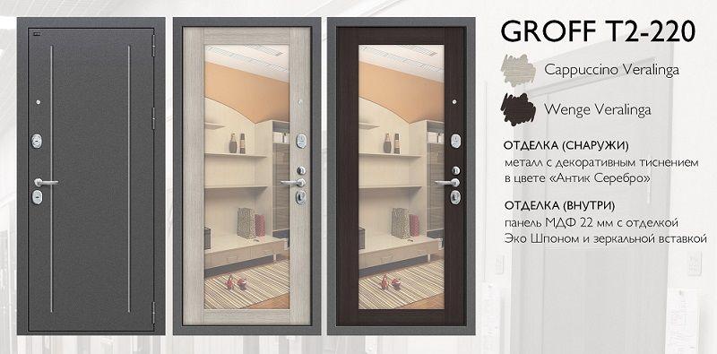 Двери Браво - Groff T T2-220 и T2-232.