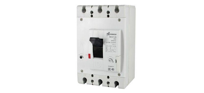 Автоматический выключатель ВА57-35.