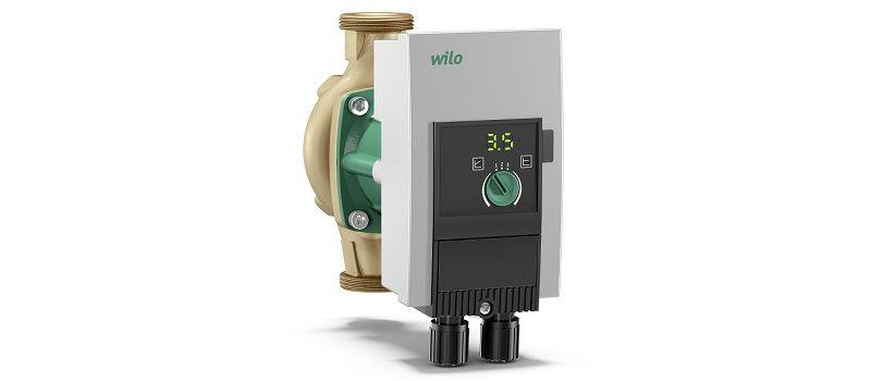 Насос Wilo Yonos-MAXO-Z для горячего водоснабжения.
