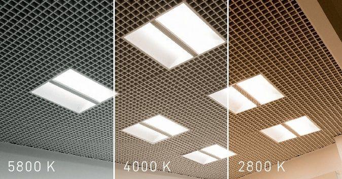 Горячо-холодно. Светильники OTX LED CH CF с изменяемой цветовой температурой.