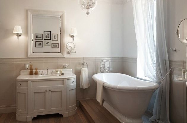 Замена труб  и проводки в ванной.