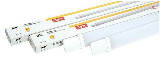 IEK представила новые светильники ДСП.