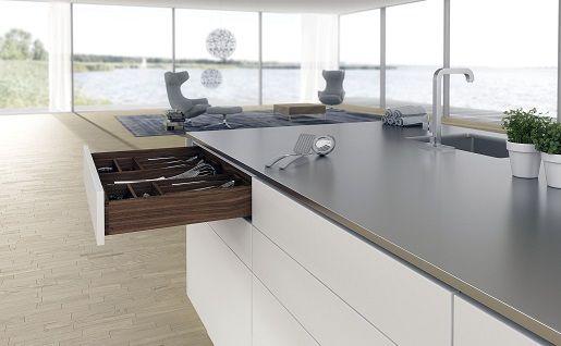 Cкрытые направляющие Hettich Quadro, отличное качество вашей мебели.