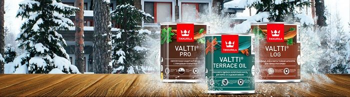 Tikkurila Valtti – 65 лет на защите древесины.